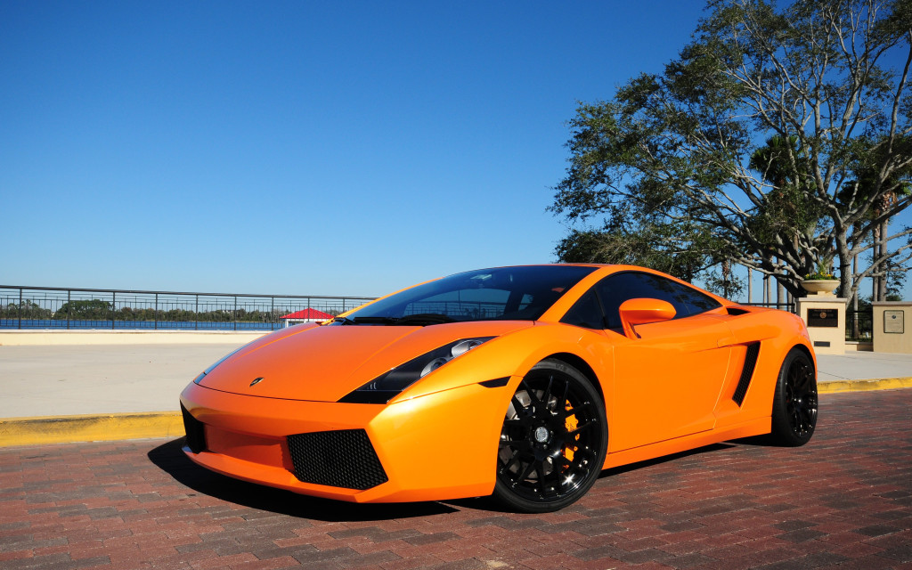 LAMBORGHINI GALLARDO ORANGE CAR