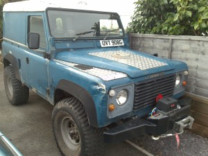 LAND ROVER DEFENDER EXTERIOR