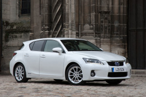 LEXUS CT200H COMPACT HYBRID RACE CAR