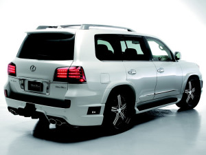 LEXUS LX570 SPORTS LINE BLACK  BISON CAR