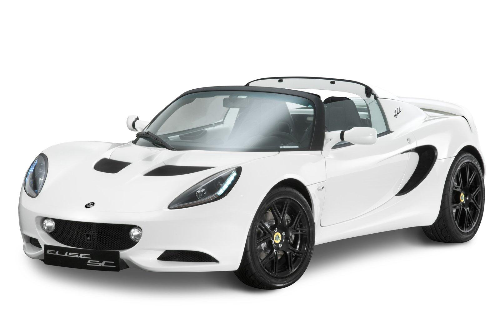 LOTUS ELISE SC RGB SPECIAL EDITION FRONT ANGLE 7