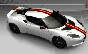 LOTUS EVORA S IN HONOR OF FREDDY MERCURY