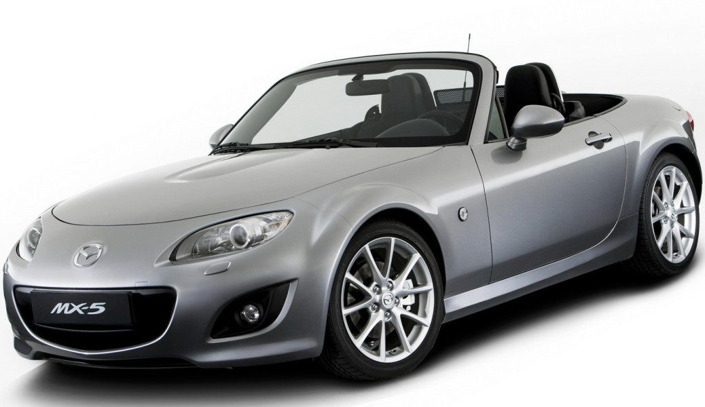 MAZDA MX 5 MIATA LEAKED  CAR