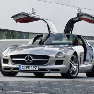 MERCEDES BENZ SLS AMG GULLWING 2011 GOTBROKEN COM CAR