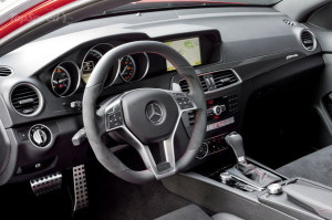 MERCEDES C63 AMG BLACK SERIES COUPE INTERIOR CARS