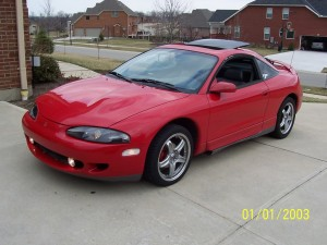 MITSUBISHI ECLIPSE FAIRFIELD CAR