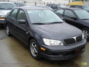 MITSUBISHI LANCER OZ RALLY IN LABRADOR BLACK PEARL 016979