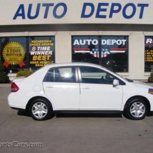 NISSAN VERSA 1 8 S SEDAN IN FRESH POWDER WHITE 362073