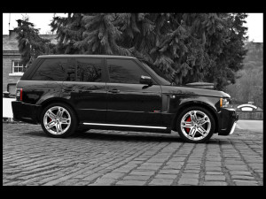 2011 NOPQ 2011 PROJECT KAHN LAND ROVER RS600 BLACK SIDE CAR