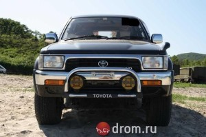 OFF ROAD VEHICLE USED TOYOTA HILUX SURF