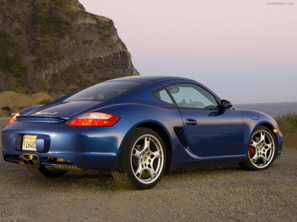 PORSCHE CAYMAN S 2008 EXOTIC CAR