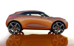 HUMMER  RENAULT CAPTUR CONCEPT NEW CAR