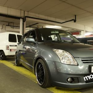 SUZUKI SWIFT HEAVEN ON WHEELS TUNING