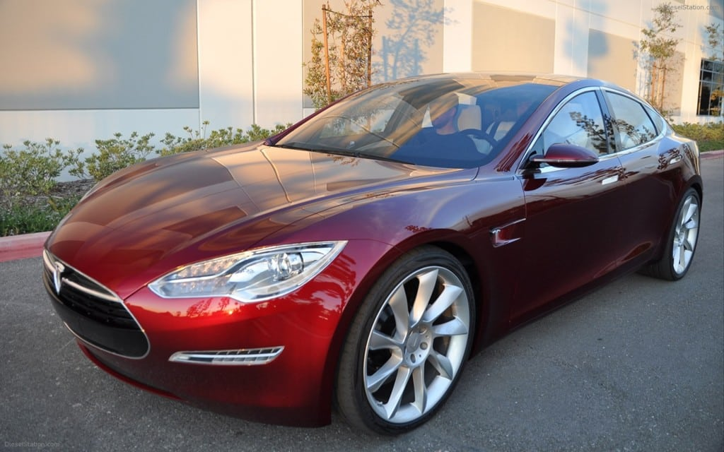 TESLA ALPHA MODEL S 2012 WIDESCREEN EXOTIC CAR