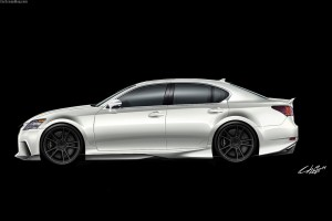 LEXUS GS FIVE AXIS CARS
