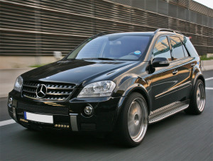 MERCEDES ML63 AMG CARS