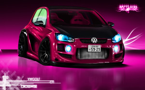 FERRARI VW GOLF GTI CAR
