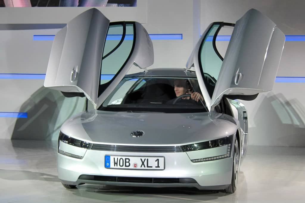 VOLKSWAGEN XL1  CAR
