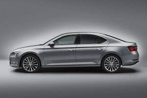 New Skoda New Superb 2015