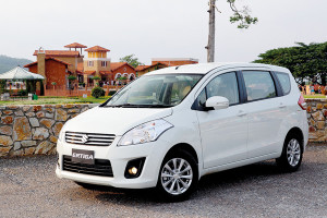 Latest Maruti Suzuki Ertiga Facelift