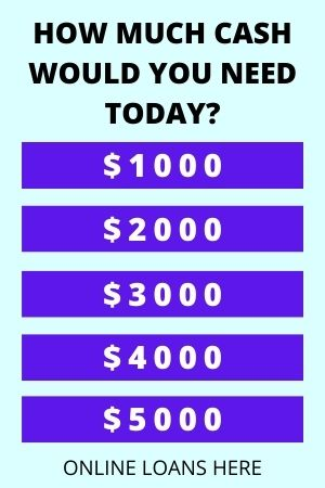 HOW MUCH CASH WOULD YOU NEED TODAY