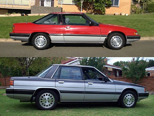 1985 Hatch Back Coupe and Sedan