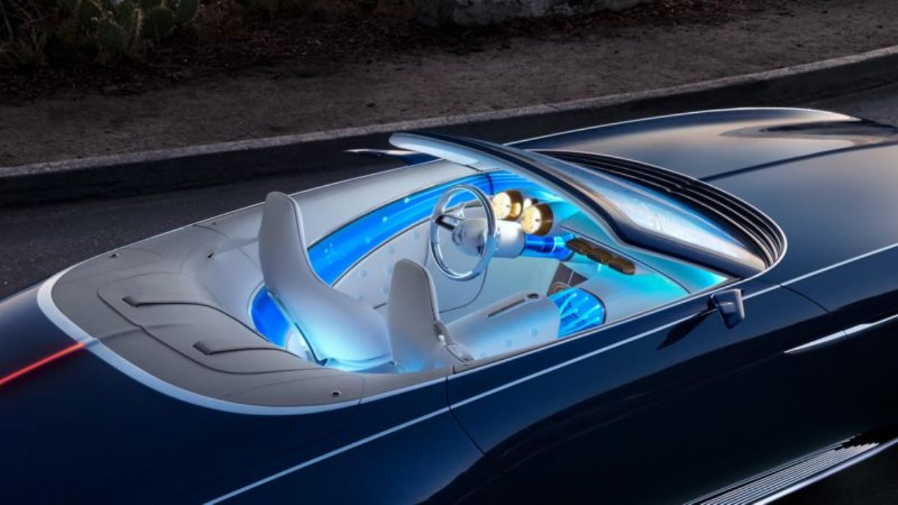 Maybach 62 Cabrio Mercedes Ultra Luxurious Electric Car