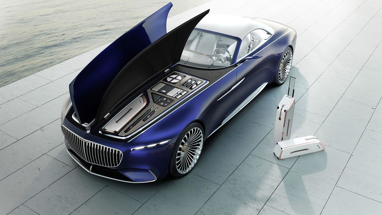 Vision Mercedes Maybach 6 cabriolet Engine
