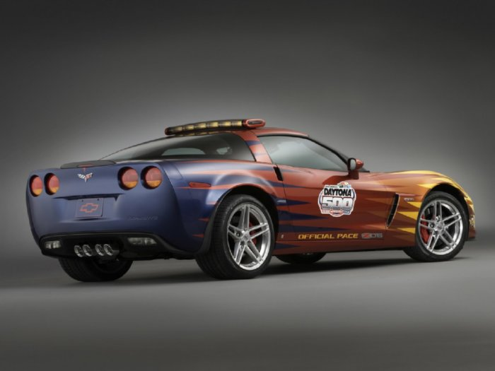 Awesome Looking Daytona 500 Pace Car Chevrolet Corvette
