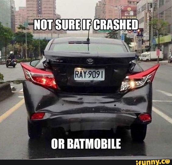 Not Sure If This Car Crashed or