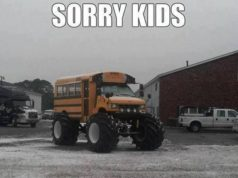 Sorry Kids No More Snow Days