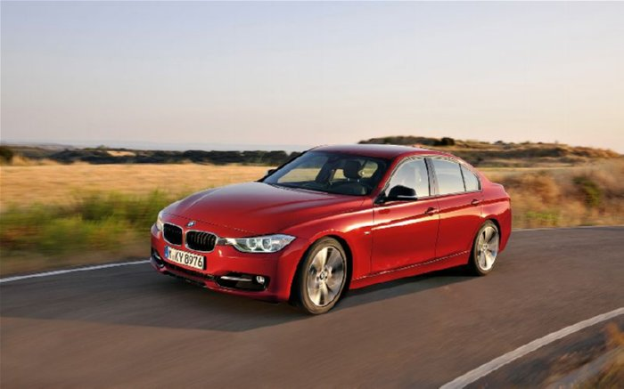 Cool Red BMW 328i