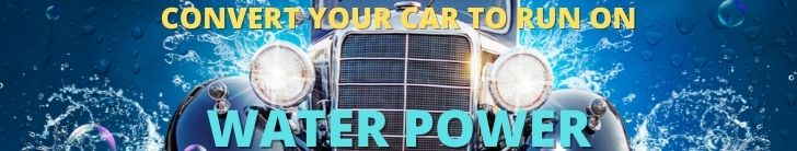 Convert Your Car to Run on Water Power 1